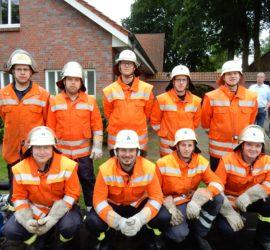 Unsere Gruppe vor dem Start (Bild: Feuerwehr Kalbe)