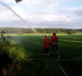 Wasserabgabe mit C-Rohr